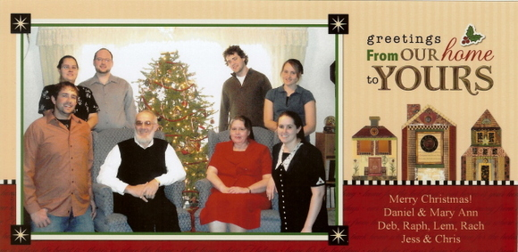 Christmas Card for real